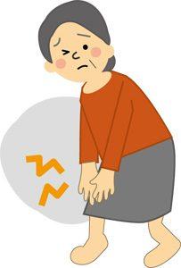 変形性膝関節症 イメージ